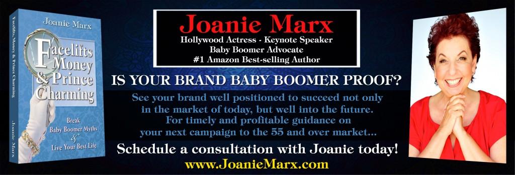 Joanie Marx Is Your Baby Boomer Advisor