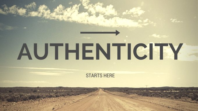 Authenticity – Joanie Marx